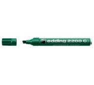 edding 2200C permanentne marker 1-5mm lõigatud ots roheline