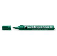 edding 2000C permanentne marker 1,5-3 mm ümar ots roheline