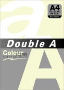 Koopiapaber Double A A4 kollane