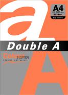 Koopiapaber Double A A4 safrankollane