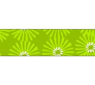Folia Washi-Tape 26045 15mm x 10m rohelised karikakrad