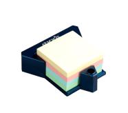Stick'N märkmekuup 76x76 mm pastell 400 lehte + hoidja