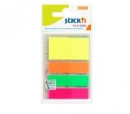 Stick'N indeksid 21051 4-värvi 45x12mm