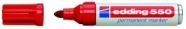 edding 550 permanentne marker punane