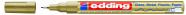 edding värvimarker 780, 0.8mm, permanente kuldne