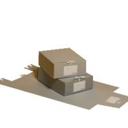 Cista arhiivikarp AKSP 350x280x120 paelaga