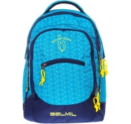 Belmil 338-27 koolikott Roomy Peacock Blue Mix