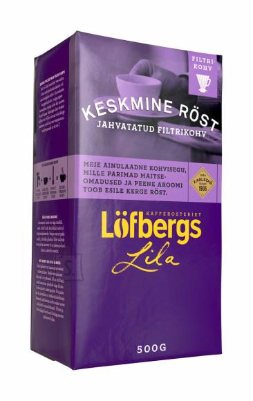 Löfbergs Lila kohv keskmine röst 500g