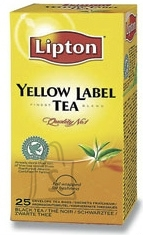 Lipton Yellow Label tee fooliumis 1,8gx25