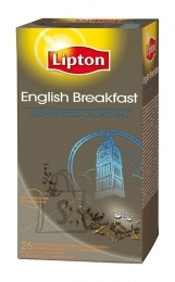 Lipton English Breakfast tee fooliumis 2gx25