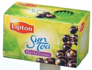 Lipton Sun mustamarja tee