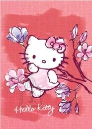 College ruuduline spiraalplokk Hello Kitty Aquarelle A4/80L