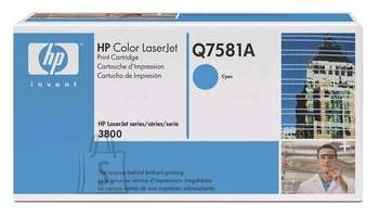 HP Tooner HP Color LJ 3800 Cyan (6000 lehte)
