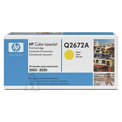 HP Tooner HP Color LJ 3500/3550 Yellow (4000 lehte)