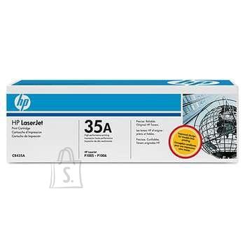 HP Tooner HP 35A LJ P1005/P1006 must (2x1500 lehte) topeltpakk
