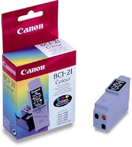 Canon tindikassett BCI-21 Color 3-värvi