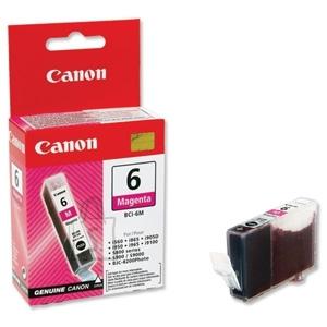 Canon tindikassett BCI-6M magenta