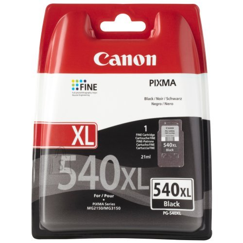 Canon tindikassett PG-540XL 21ml must