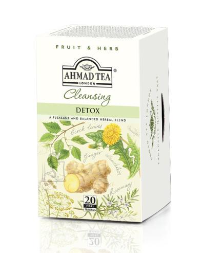 Ahmad Tea Cleansing Detox tee fooliumis 20x2g