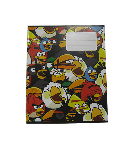 College ruuduline kaustik Angry Birds Grazy A5 36 lehte