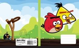Ruuduline vihik Angry Birds Sky 12L