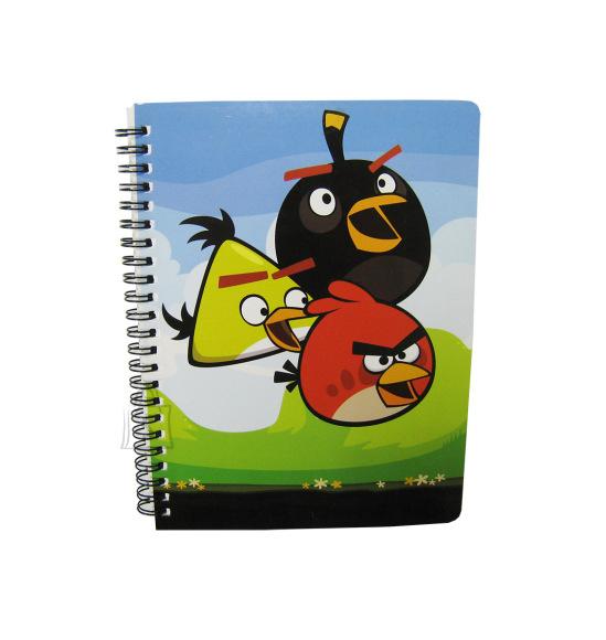 College jooneline spiraalplokk Angry Birds Sky A5/60L