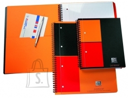 Oxford ruuduline spiraalplokk International Activebook A5+/80L