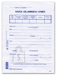 College Blankett Kassa väljamineku order A5/100L KPF