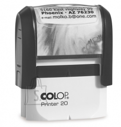 Colop tempel Printer P20 14x38mm