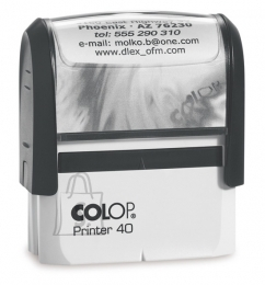 Colop tempel Printer P40 (23x59mm)