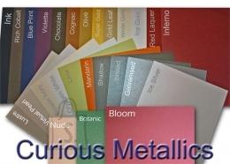 Curious esinduspaber Translucents Gold A4/100g/50L