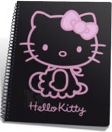 College ruuduline spiraalplokk Hello Kitty Lilac A6/48L