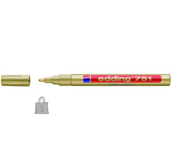 edding permanentne värvimarker kuldne 1-2mm