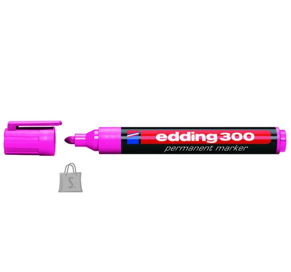 edding permanentne marker 300 A8 roosa 1,5-3mm