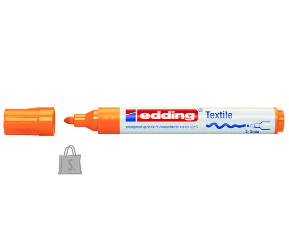 edding tekstiilimarker oranž