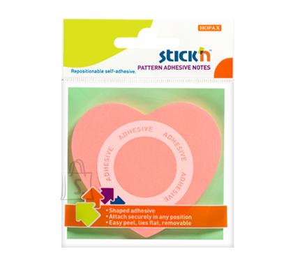 Stick'N märkmepaber Süda Pattern adhesive  50 tk