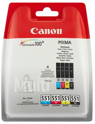 Canon tindikassettide komplek CLI-551