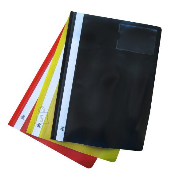 College kiirköitja A4 visiitkaarditaskuga kollane