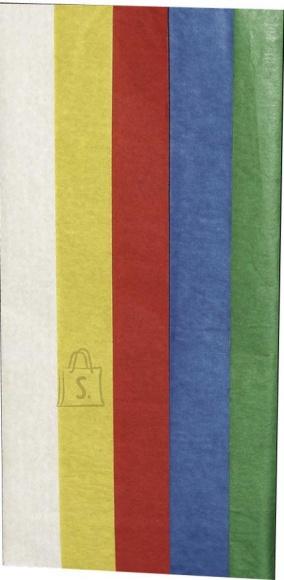 Haza siidipaber 50x70cm 5lehte põhivärvid