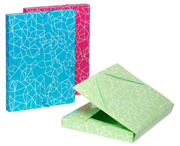 Viquel karp nurgakummiga Origami A4/3cm assortii