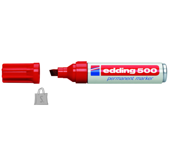 edding permanentne marker 500 2-7mm punane