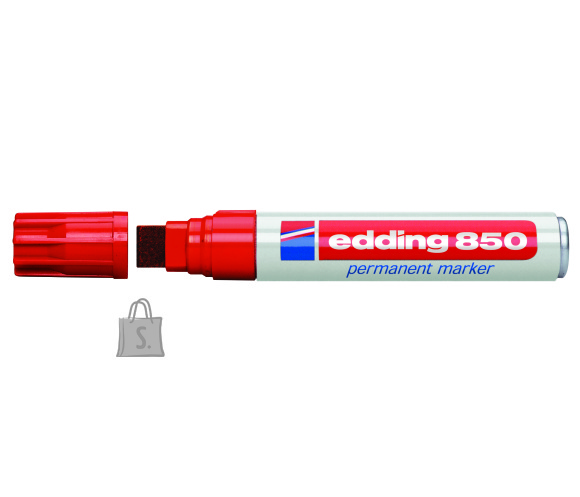 edding permanentne marker 850 5-16mm lõigatud ots punane