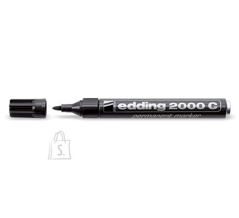 edding 2000C permanentne marker 1.5-3 mm ümar ots must