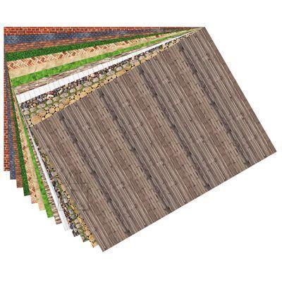Folia motiivpaber 80g/m Surfaces 50x70cm 13lehte assortii