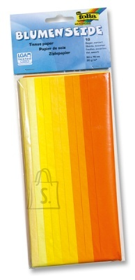 Folia siidipaber 50x70 Color 10tk kollane mix