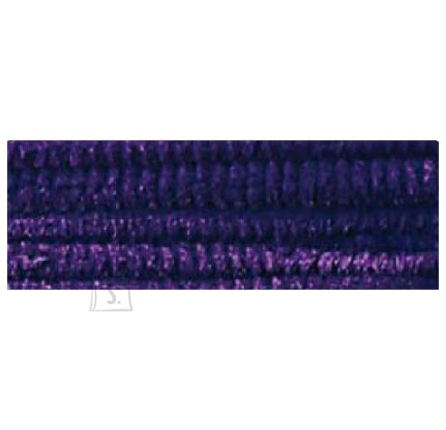 Folia käsitöötraat karvane 10tk 50cm tumelilla