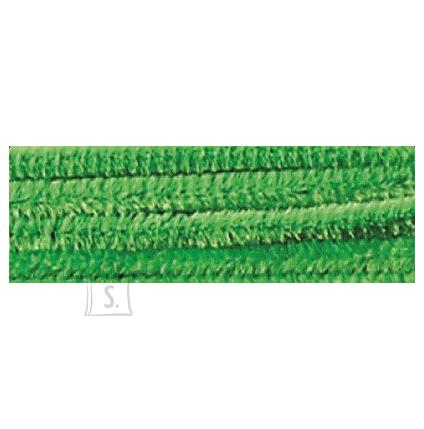 Folia käsitöötraat karvane 10tk 50cm heleroheline