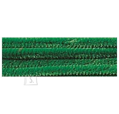 Folia käsitöötraat karvane 10tk 50cm samblaroheline