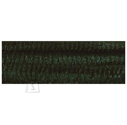 Folia käsitöötraat karvane 10tk 50cm roheline