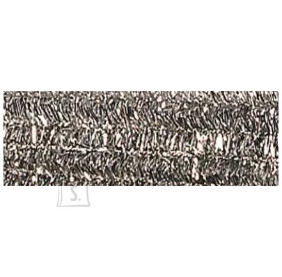 Folia käsitöötraat karvane 10tk 50cm hõbe